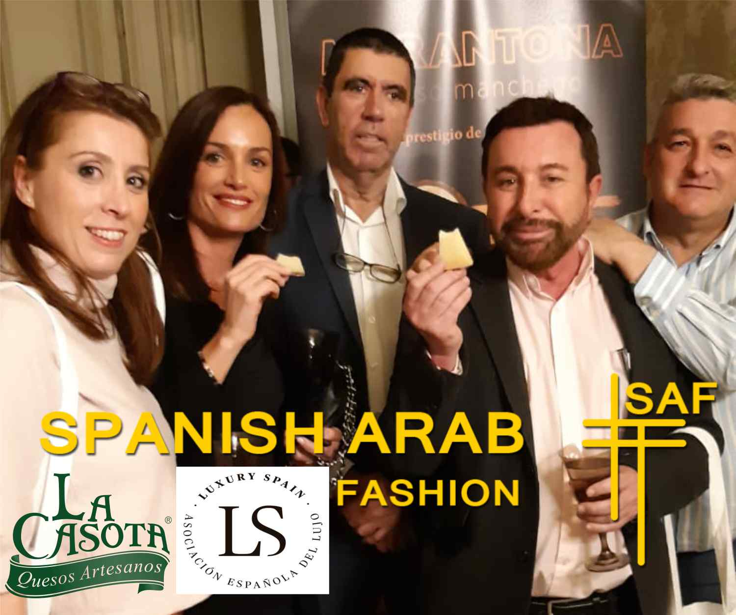 "Spanish Arab Fashion 2019 | Quesos La Casota presente en la ""SAF"" 2019"
